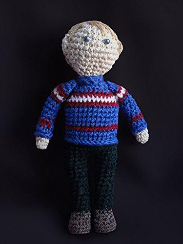 [John Watson, Doc Watson Christmas Sweater, Doctor Gift, Sherlock Holmes Costume, Stuffed Toys for Kids, Free Shipping, Crochet] (Doctor Watson Costume)
