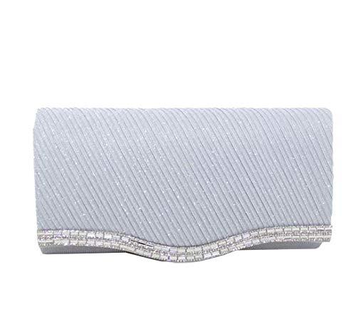 Petit Silver Hautefordiva Pochette pour Femme Gris q7pIvw
