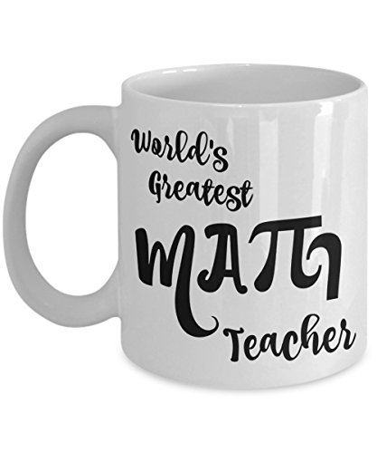Math Teacher Mug - Men, Women, Coworkers - Gifts for Retired High School, Elementary Teachers - Coffee Mug - Mugs Perfect for End of Year Gift Ideas, Christmas - 11 oz (Cute Toga Ideas)