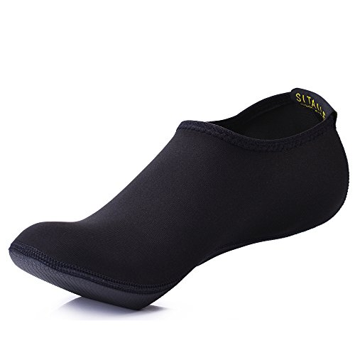 SITAILE Damen Herren Kinder Barfuß Schuhe Weich Wassersport Schuhe Aquaschuhe Surfschuhe Badeschuhe Yoga Fitness Schuhe Water Aqua Shoes
