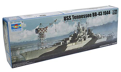 Trumpeter 05782 USS Tennessee BB-43 1944, 1/700 Scale Plastic Model Kit