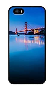 Golden Gate Bridge San Francisco - Personalized Crystal Clear Enamel Hard Back Shell Case Cover Skin for iPhone 4/4S