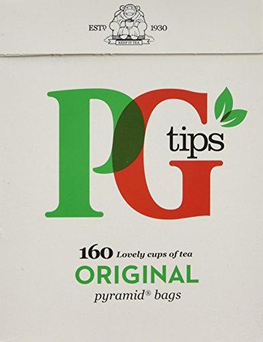PG Tips, Pyramid Tea Bag, 160 Count Boxes