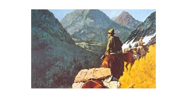 Amazon com: Howard Terpning - High Country: Posters & Prints