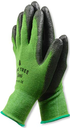 Garden Womens Gloves - Pine Tree Tools Bamboo Working Gloves for Women and Men. Ultimate Barehand Sensitivity Work Glove for Gardening, Fishing, Clamming, Restoration Work & More. S, M, L, XL, XXL (1 Pack M)