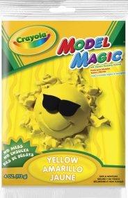 Crayola Model Magic Yellow 4 Oz  Each  Pack Of 4