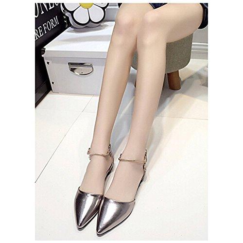 Spritech(TM) Women Girl Summer Flat Shoes Point Toe Faux ...
