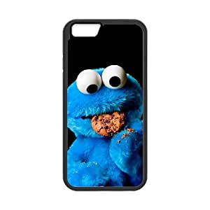 iPhone 6 Plus 5.5 Inch Cell Phone Case Black Cookie Monster 003 SYj_871660