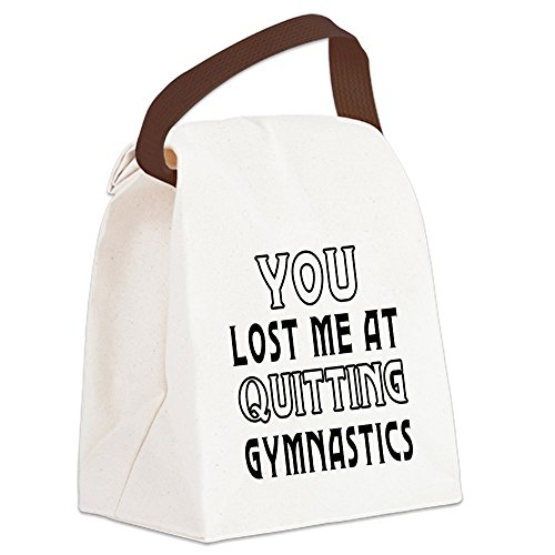 CafePress Quitting Gymnastics Canvas Handle