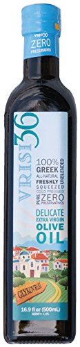 Vrisi36 BOLD Greek Delicate Extra Virgin Olive Oil, 16.9 fl oz by Vrisi36 BOLD