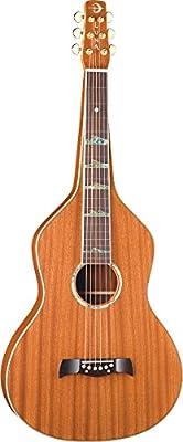 Luna LS WEI SOLID Lap Steel Guitar, Weissenborn Style, Hawaiian Mahogany