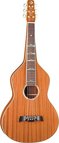 Luna LS WEI SOLID Lap Steel Guitar, Weissenborn Style, Hawaiian Mahogany by Luna Guitars