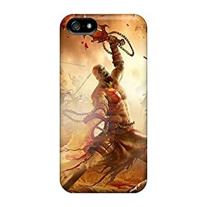 New Style Cynthaskey God Of War Premium Tpu Cover Case For Iphone 5/5s