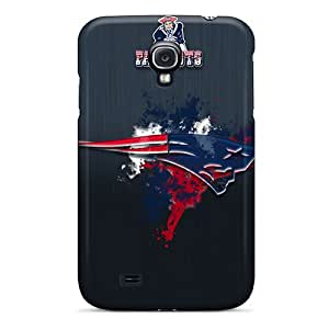 Scratch Resistant Hard Phone Cover For Samsung Galaxy S4 With Customized Stylish New England Patriots Pictures AnnaDubois