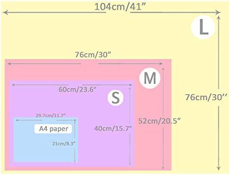 Couverture en Peluche Ultra-Souple pour Chien / Chat 3 Pièces Patte Grise Large (104*76cm)