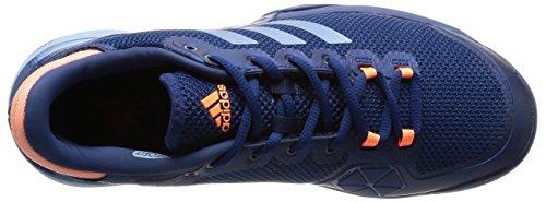 adidas Barricade 2017, Zapatillas de Tenis Unisex Adulto Azul (Mystery Blue/tactile Blue/glow Orange)