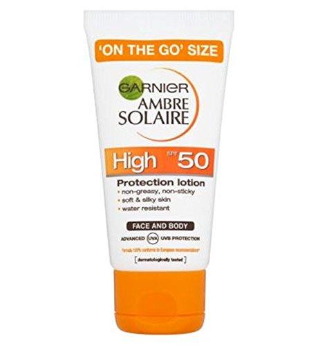 Price comparison product image Garnier Ambre Solaire Face & Body Lotion Spf 50 50Ml