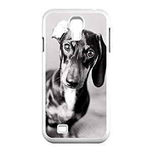 Custom Colorful Case for SamSung Galaxy S4 I9500, Cute Dog Dachshund Cover Case - HL-693053