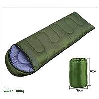 Professional Mummy Sleeping Bag for Camping, TechCode®Hiking and Outdoors. 3-4 Season. Drawstring Hood and Collar