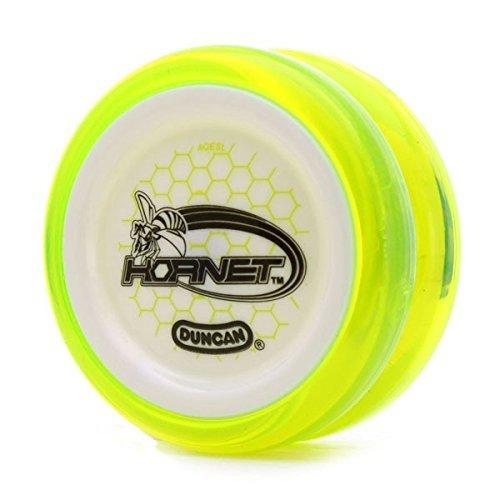 Duncan Hornet Clear Yellow with White Cap Looping Yo Yo B01KN0LKEG