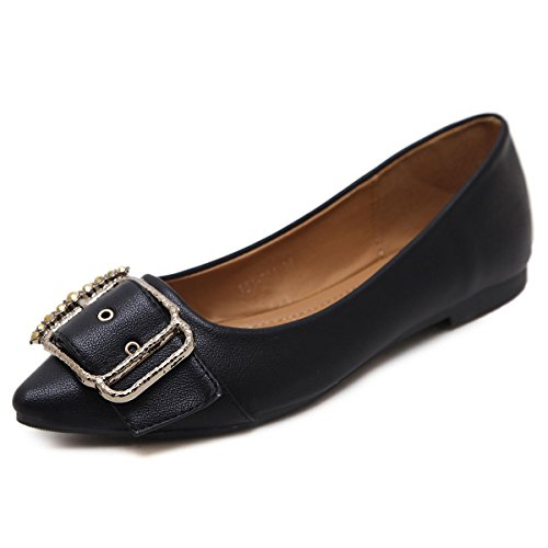 Punta Autunno Pu 35 Lavoro Partito Primavera Eur 3 Comfort Shallow Da Singole Black Donna Punto New Pompe A Court Scarpe uk Leisure Flat Nvxie Artificiale Bouth Eur35uk3 Apricot BOHqvxS