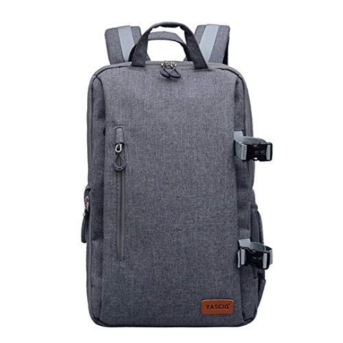 Mzl SLR Camera Backpack Nylon Side Access Waterproof Burglar Outdoor Travel Multifunction Large Gray Black Blue Men Wome
