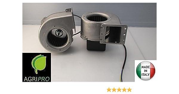 ventilador hojas Emmevi CF 100 - 35 W 80/85 Motor para calderas con diseño A pellets: Amazon.es: Industria, empresas y ciencia