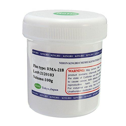 MASUNN Rma-218 100G Flux Pasta Soldadura Aceite Bga Reballing Reparació n Flujo Pasta