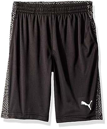 PUMA Boys Puma Boys' Performance Shorts Shorts - Black - 4