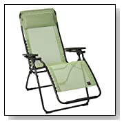 LaFuma Futura Clipper Anti Gravity Recliner Absinthe Fabric