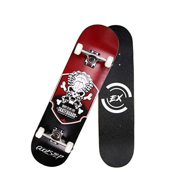 Pro Skateboard 31″ X 8″ Standard Skateboards Cruiser Complete Canadian Maple 8 Layers Double Kick Concave Skate Boards …