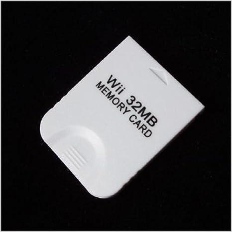 Amazon.com: Nintendo Wii 32 MB de tarjeta de memoria ...