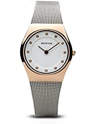 BERING Time 11927-064 Womens Classic Collection Watch with Mesh Band and scratch resistant sapphire crystal. Designed...