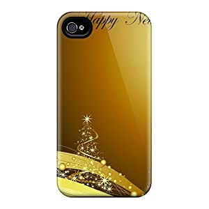BeverlyVargo HlS17959xaoA Cases Covers Iphone 6 Protective Cases Cartolina Happy New Year