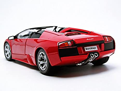 Amazon Com Bburago Lamborghini Murcielago Roadster Red 1 18 12070