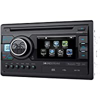 VR-346 - Soundstream In-Dash 2-DIN 3.4 LCD Screen DVD Receiver with USB/SD Input