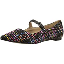 The Fix Women's Estrella Mary Jane Tweed Ballet Pointed Toe Flat
