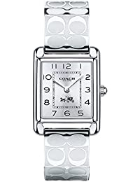 Womens 14502159 Page Signature Silver Stainless Bangle Watch
