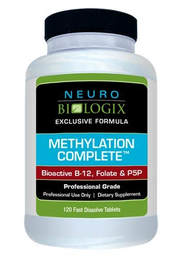 (Neurobiologix Methylation Complete Bioactive B-12, Folate, and P5P MTHFR Supplement Fruit Punch Flavor (120 Sublingual Tablets))