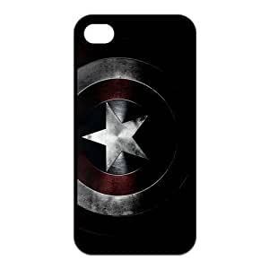 Captain America Printing iphone 6 4.7 Cases,Hard Silicone+PC Material, Case for iphone 6 4.7 Rubber Case Cover
