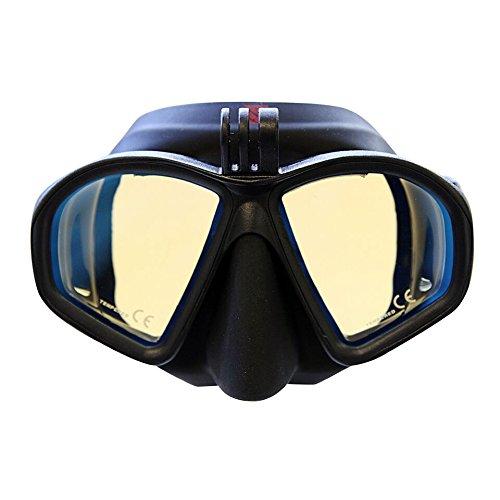 Hammerhead MV3 Action Mask w/GoPro Mount - Amber
