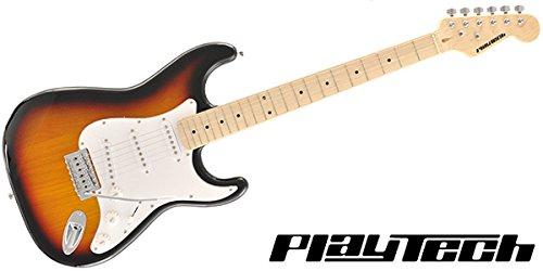 【国内正規品】 PLAYTECH プレイテック エレキギター ST250 Maple Sunburst B01MY5LVHF