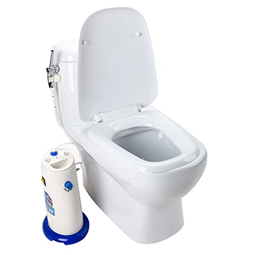 Heshe Handheld Multipurpose Anal Vagina Booties Cleaning Toilet Warm Water Flush by Sex Toys (Image #2)
