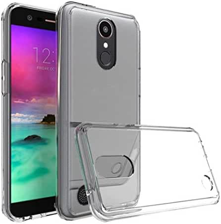 Voberry TPU+Acrylic Crystal Clear Cover Protective Case For LG K20 PLUS LG K10 2017