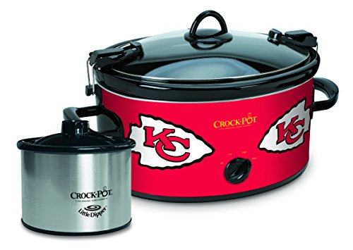 Crockpot Crock-Pot Kansas City Chiefs NFL Cook & Carry Sl...