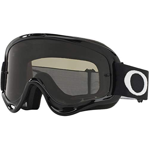 Oakley O Frame MX Adult Off-Road Motorcycle Goggles - Jet Black/Dark Grey