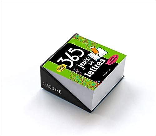 365 jeux lettres