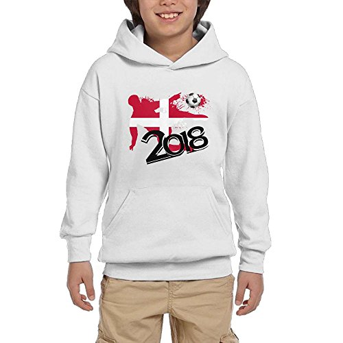 2018 Football Match Denmark Youth Unisex Hoodies Print Pullover Sweatshirts supplier