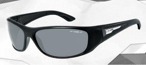 Arnette Men AN4155 FREEZER Black/Grey Sunglasses 65mm