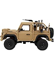 1:12 Remote Control Simulated Kid Toy, Electric Car Toy, Four-wheel Drive Vehicle Military Climbing Car Toy for Boys Kids Girls Adults Desert yellow
